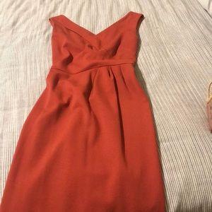 Orange dress !